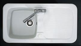 Astracast Sink Aquitaine 1.0 bowl ceramic kitchen sink.