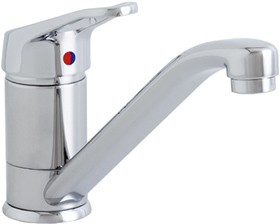 Astracast Springflow Finesse 474 Water Filter Kitchen Tap in chrome.