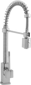 Astracast Single Lever Nordic 706 Professional kitchen tap, pull out rinser.