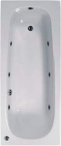 Aquaestil Mercury Aquamaxx Whirlpool Bath. 6 Jets. 1600x700mm.