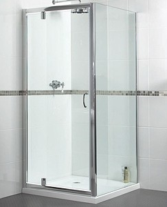 Aqualux Shine Shower Enclosure With 900mm Pivot Door. 900x760mm.