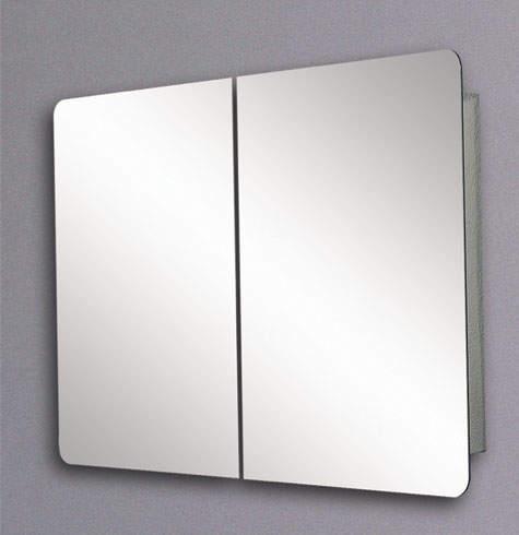 Hudson Reed Limerick Mirror Bathroom Cabinet Sliding Doors 800 1460mm