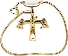Avondale Bath/Shower Mixer tap (Antique Gold, Special Order)