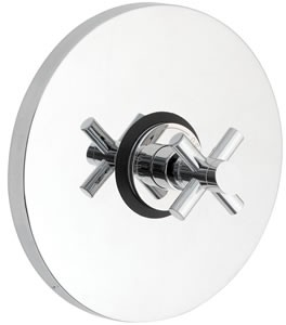 Ultra Scope Concealed thermostatic sequential shower valve.
