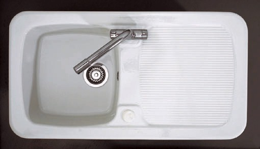 Larger image of Astracast Sink Aquitaine 1.0 bowl ceramic kitchen sink.