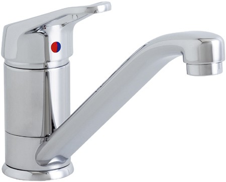 Larger image of Astracast Springflow Finesse 474 Water Filter Kitchen Tap in chrome.