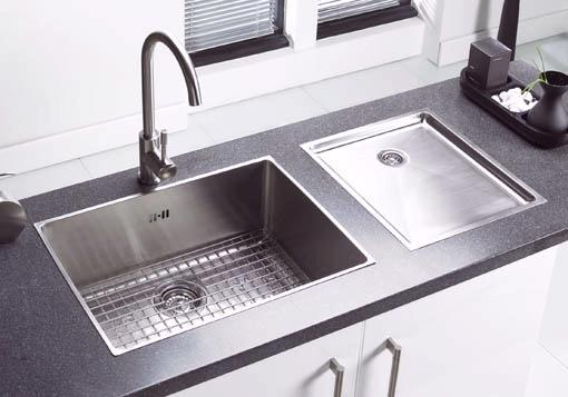 Example image of Astracast Sink Onyx large bowl flush inset kitchen sink & Extras.