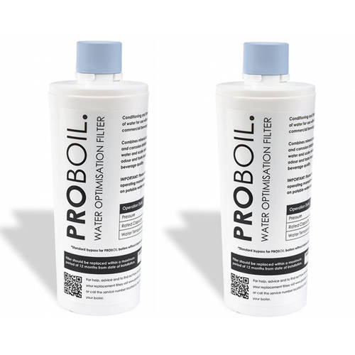 Larger image of Abode Pronteau 2 x PROBOIL Replacement Water Filter Cartridge.