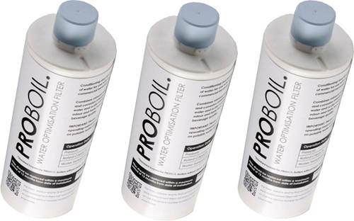 Larger image of Abode Pronteau 3 x PROBOIL Replacement Water Filter Cartridge.