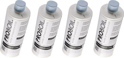 Larger image of Abode Pronteau 4 x PROBOIL Replacement Water Filter Cartridge.