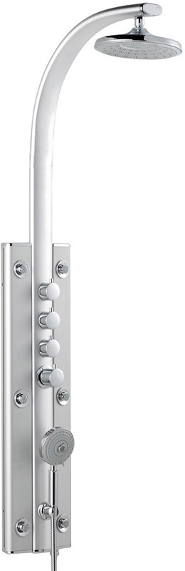 Larger image of Ultra Showers Panel 2 Thermostatic Shower Panel.