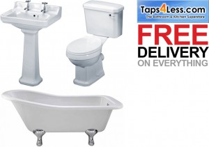 taps4less.ie trad bathroom suites