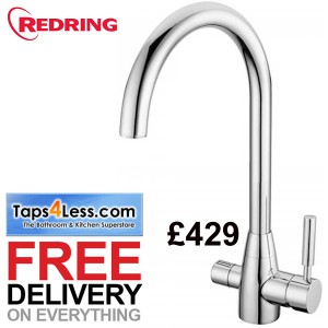 Redring hot water kitchen tap